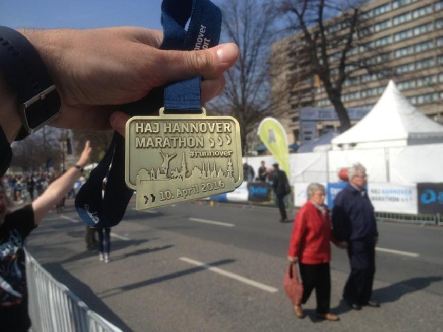 HAJ Marathon Hannover 2016, 10 апреля2016