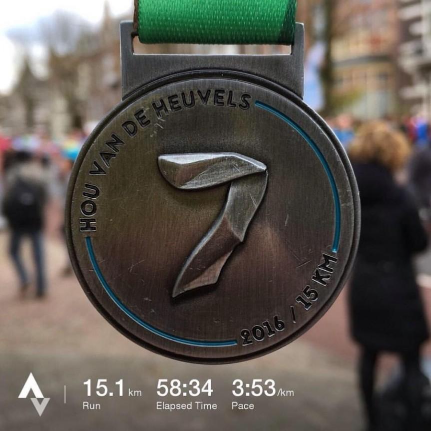 Scholten Awater Zevenheuvelenloop — 15 km, 20 ноября2016
