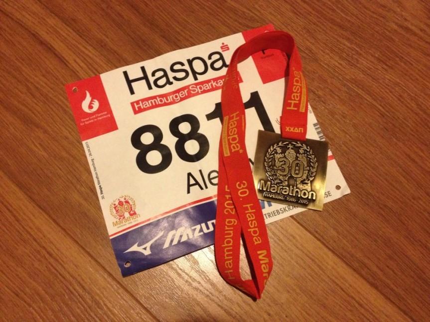 Marathon Hamburg 26-04-2015